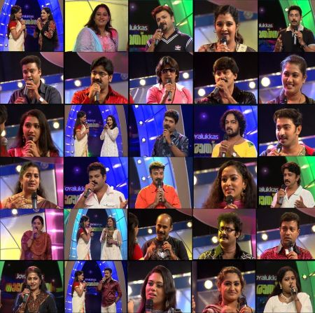 Joy Alukkas Tharolsavam Contestants