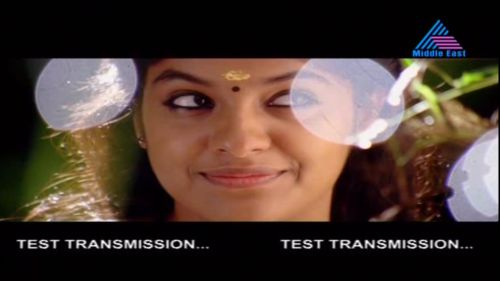 Asianet Middle East Test Signal at Insat 2E