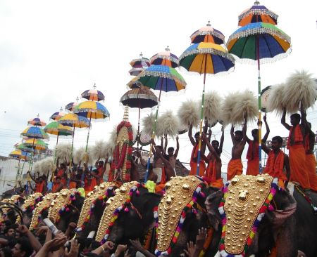 Thrissur Pooram Live on Kairali Tv