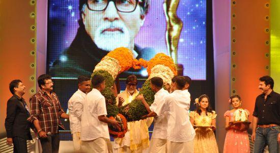 Asianet Honours Amitabh Bachchan