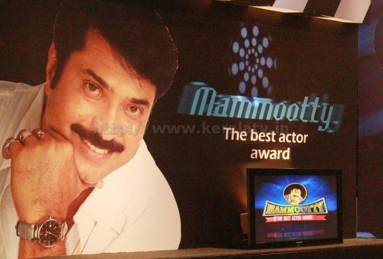 Mammootty The Best Actor Award 3