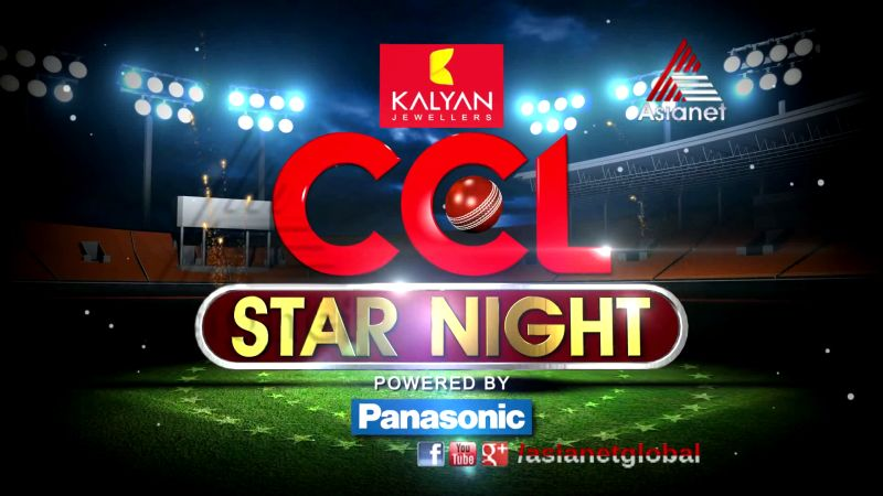 Celebrity Cricket League Star Night
