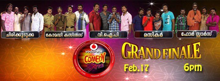 Vodafone Comedy Stars Grand Finale Live