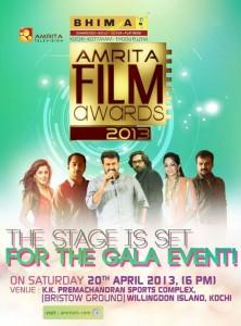 Amrita TV Film Awards 2013