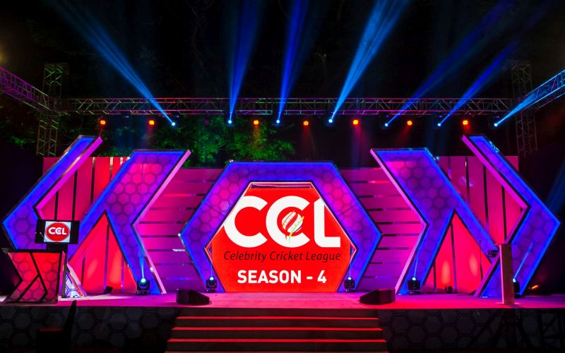 Celebrity cricket league today matches