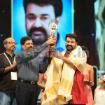 Mohanlal at Asianet Film Awards 2016