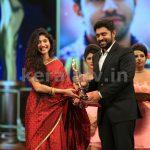 Sai Pallavi and Nivin Pauly at Asianet Film Awards 2016