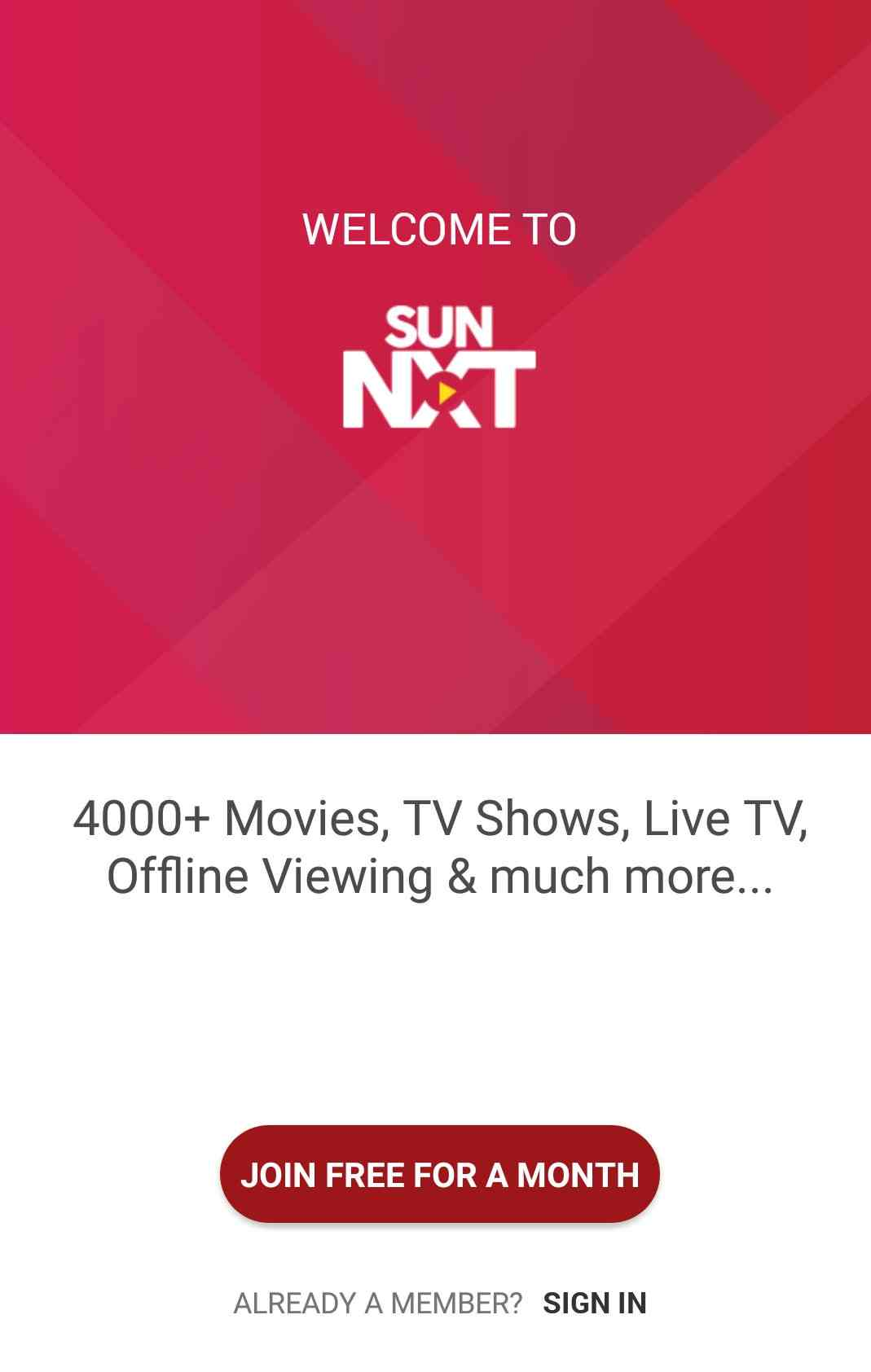 Sun NXT App Download And Installation - Watch Surya TV Shows