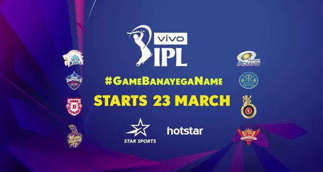 Live Coverage of IPL 2019