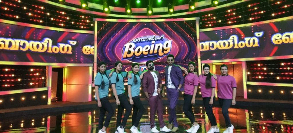 Boeing Boeing First Fully Amusement Game Show Zee Keralam