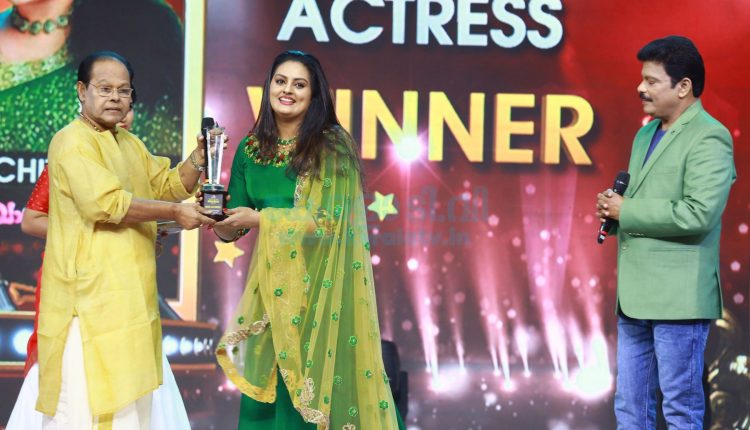Asianet Television Awards 2019 Winners - Telecasting on 31st August and 1st September at 7.00 P.M 3