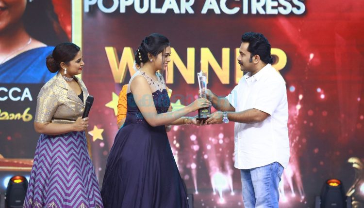 Asianet Television Awards 2019 Winners - Telecasting on 31st August and 1st September at 7.00 P.M 4