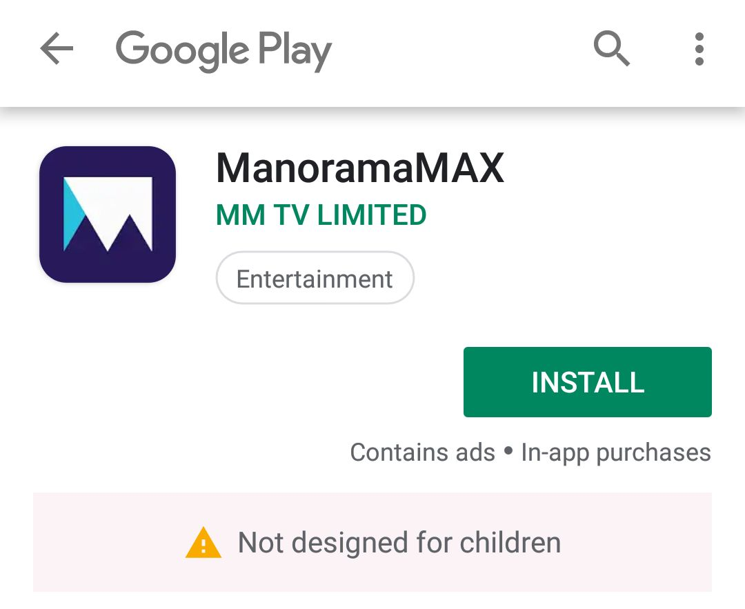 Install ManoramaMAX App For Free From Google Play Store On