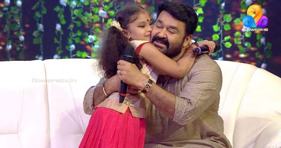 Top singer with Lalettan