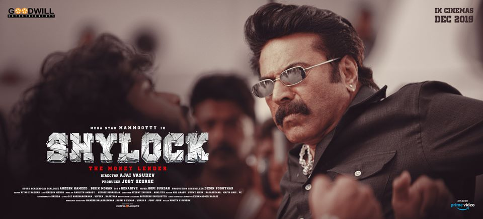 Shylock Malayalam Digital Streaming Rights