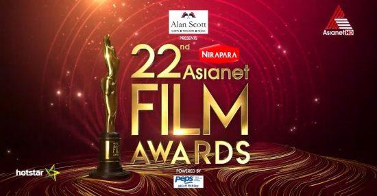 22nd asianet film awards list of winners