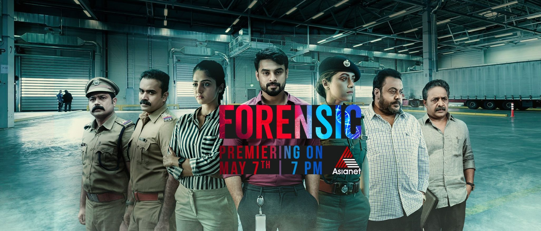 Forensic Movie Television Premier On Asianet 7th May At 7 00 P M
